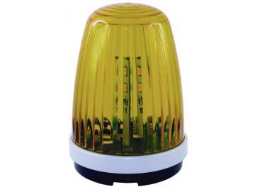 WTS - LED-Blinkleuchte gelb (BL1) mit 6 LED´s, 12-24V oder 230V, Blinklicht oder Dauerlicht