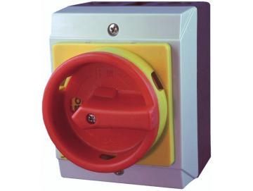 WTS - Hauptschalter HSA-16 kleine Bauform, im Wassergeschützten Iso-Gehäuse, 4-Polig, 16A