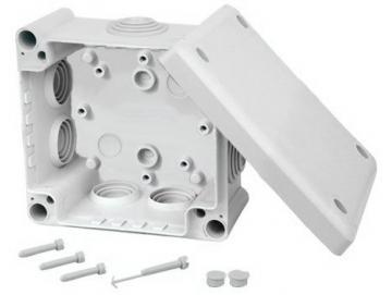 WTS - Abzweigkästen / Leergehäuse (BOXLINE) 116 x 116 x 60 mm, Wassergeschützt, IP 66