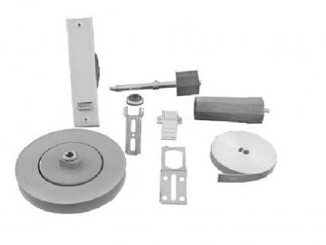 SHG-Rollladen-Montageset mit Gurtzuggetriebe