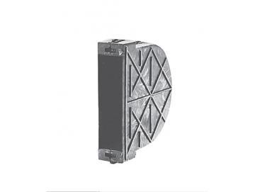 Mauerkasten Kunststoff, Gurtaufnahme 3 m, für Lochabstand 135 mm, für Einlass-Gurtwickler