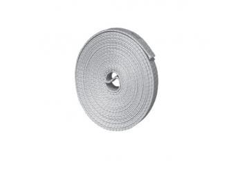Rollladen-Minigurt 14 mm grau, 4,50 m, abgelängt und geschlitz