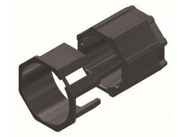WTS - Adapterset Achtkantwelle AM2-A40K für Rohrantriebe AM2 und AE2 Serie