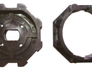WTS - Adapterset DM-A60K 60 mm Achtkantwelle für alle Rohrmotoren  Ø 45 mm