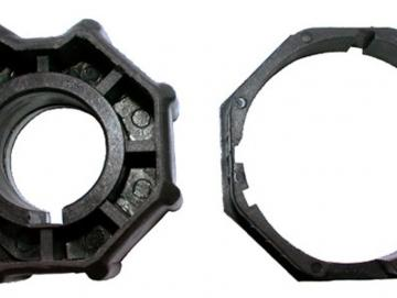 WTS - Adapterset DM-A70K-59 :70 mm Achtkantwelle nur für Maxi - Rohrmotoren  Ø 59 mm, Serie DM-59 + DMH-59