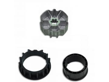 Adapterset für Profilwelle ZF80x1,2für Rohrmotore Becker Baureihe R