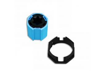 Adapterset für Achtkatwelle O-S40,für sensible Hinderniserkennung  für Becker Rohrmotoren Baureihe P